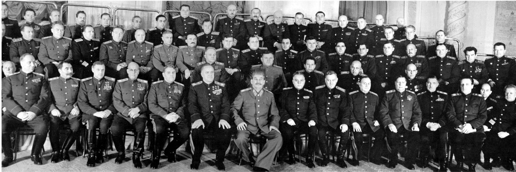 Stalin and his commanders