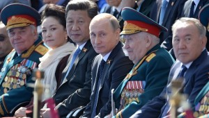 Xi and Putin together on Vday