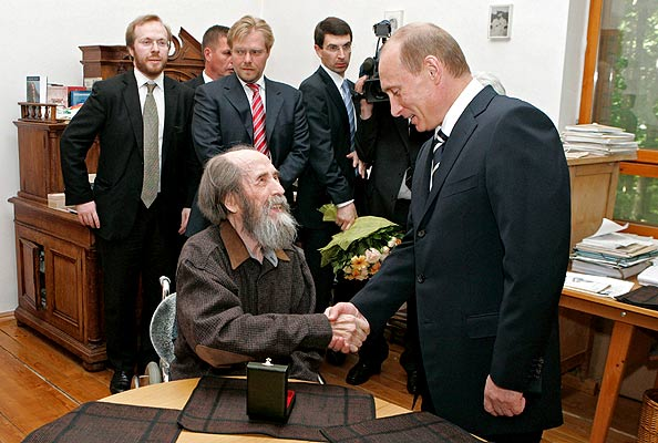 Solzhenitsyn and Putin