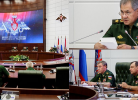 Statements of the Russian Ministry of Defense on a major readiness exercise