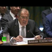 Foreign Minister Lavrov at the UNSC, the UNGA and subsequent press conference