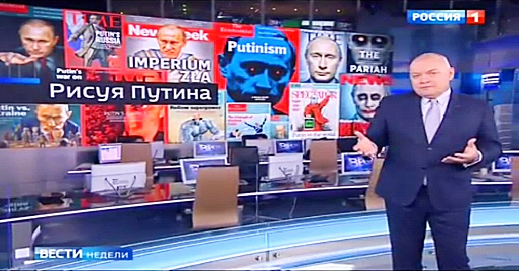 Putin bashing reported on Russian TV